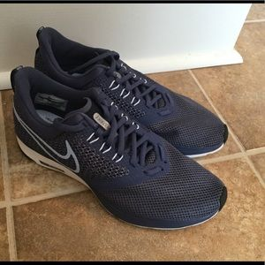 Navy Blue Nike Athletic Shoes